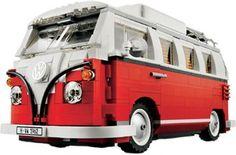 Furgoneta Volkswagen T1 de #Lego. Encuentra los mejores precios en http://www.idealo.es/precios/2985448/lego-furgoneta-volkswagen-t1-10220.html