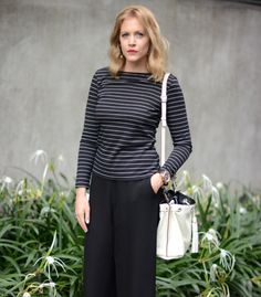 French dressing - stripe top - culottes -  A PIECE OF ELISE