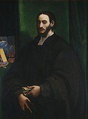 Sebastiano del Piombo - Portrait of a Humanist, c. 1520. NGA, Washington, DC.