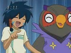 Keenan Crier and Falcomon