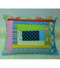 Denyse Schmidt's Hold Me Close Quilted Pillow