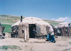 Turkmen yurt