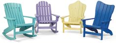 Breezesta's Adirondack Collection features 7 relaxed styles in 20 vibrant colors. Your customers can sit back and relax in Breezesta's Shoreline Chair or Rocker, Fanback Chair or Rocker, Right or Left Windsail Chair, Royale Chair or Folding Chair. Add a footrest for maximum comfort! Choose from 2 styles – Windsail or Leisure. Each piece is available in all 20 colors. Your customers can also create multi-color items for a one-of-a-kind style statement.