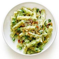 Ricotta and Pea Pasta | MyRecipes.com