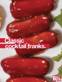 Slow Cooker Cocktail Franks - Easy 4-ingredient slow cooker recipe for sweet and sour cocktail franks. Great for football parties, too. http://stocked.bjs.com/food/recipes/classic-cocktail-franks