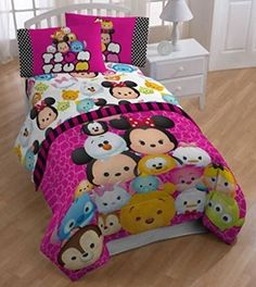Disney Tsum Tsum 3 Piece Twin Sheet * You can find out more details at the link of the image.