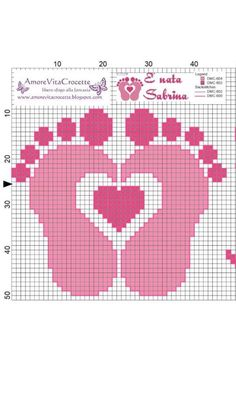 Stitch Fiddle is an online crochet, knitting and cross stitch pattern maker. Baby Cross Stitch Patterns, Cross Stitch For Kids, Cross Stitch Baby, Cross Stitch Charts, Cross Stitch Designs, Graph Crochet, Pixel Crochet, Crochet Patterns, C2c Crochet