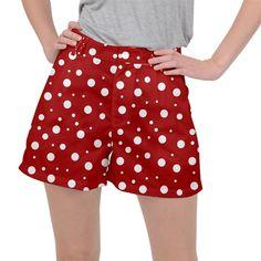 Mushroom pattern, red and white dots, circles theme Ripstop Shorts Circles, Red And White, Casual Shorts, Stuffed Mushrooms, Core, Womens Fashion, Pattern, Pants, Clothes