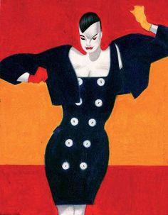 Lorenzo Mattotti - Bogy's, 1988, Vanity n. 30