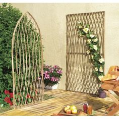 jardini res brise vue homemade treillis diy treillis et jardini res. Black Bedroom Furniture Sets. Home Design Ideas