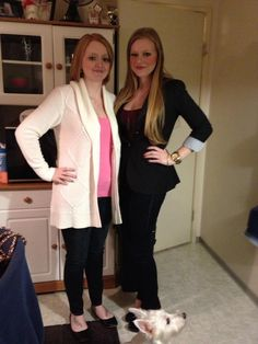 30th Birthday outfit with my sissy