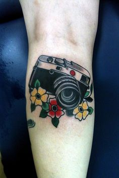I would love a camera like this with flowers, but a little more vintage.