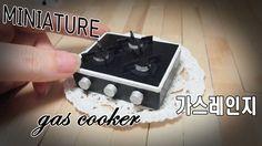 미니어쳐 가스레인지 만들기!  gas cooker  *Miniature &Dollhouse ミニアチュア