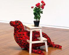 claire healy + sean cordeiro interweave LEGO and IKEA furniture