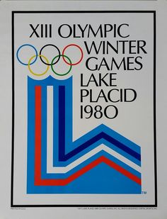 Vintage+poster+XIII+Olympic+Winter+games+Lake+Placid+1980
