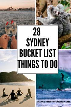 28 Best Sydney Bucketlist Things to do – Anna Sherchand