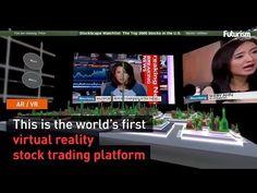 World's First Virtual Reality Stock Trading Platform - YouTube