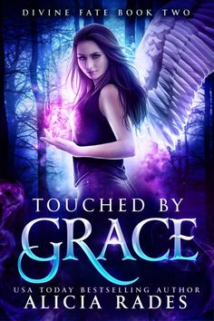 Touched by Grace (Davina Universe: Divine Fate Trilogy Book Teen Romance Books, Fantasy Books To Read, Paranormal Romance Books, Book Club Books, Good Books, Book Lists, Book Art, Ebook Cover, Book Suggestions