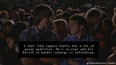 It is quite refreshing. Tv Quotes, Movie Quotes, Greek Tv Show, The L Word, Francis Ford Coppola, Abc Family, Tv Land, Buffy The Vampire Slayer, Criminal Minds