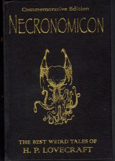 HP lovecraft  - Necronomicon
