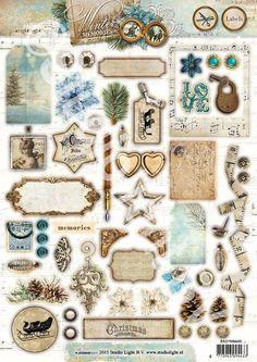 Studio Light serie:  ---Winter Memories---  Labels