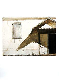 Andrew Wyeth I Shuttered I 1992