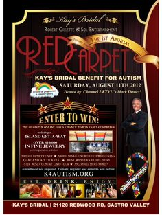 Support Kay's Bridal, a benefit for Autism. http://www.k4autism.org