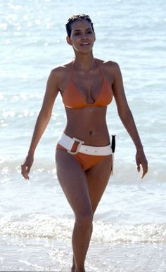 James Bond girl Halle Berry as Jinx Johnson in Die Another Day