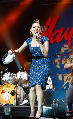 Imelda May - good thing she and her band love to play Portland!