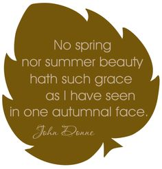Autumn Quote -