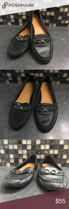 0abad2a0191 Coach black loafers These black Coach loafers are the perfect addition to  any closet. They
