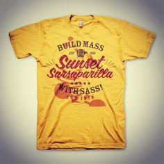 Sunset Sarsaparilla - Fallout Tee #fallout #tshirt #tee #type