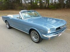 1966 Mustang Convertible in my favorite color