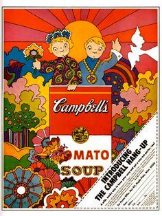 Campbell Hang-Up Poster: John Alcorn 1968