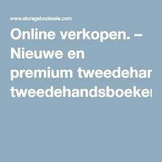 Online verkopen. – Nieuwe en premium tweedehandsboeken .