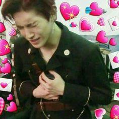 New memes kpop caras sad ideas Kpop Memes, Dankest Memes, Funny Memes, K Pop, Nct 127, Heart Meme, Bts Book, Nct Taeyong, New Memes
