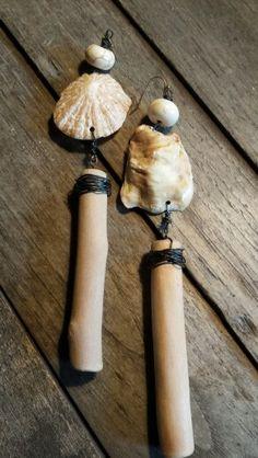 Aus meiner Schmuckkollektion Soi Yo!  Ohrschmuck aus Strandgut 29€ www.katrinlenz.de