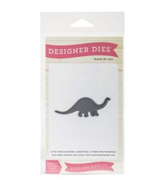 Echo Park Paper Company™ Designer Dies-Brontosaurus Small