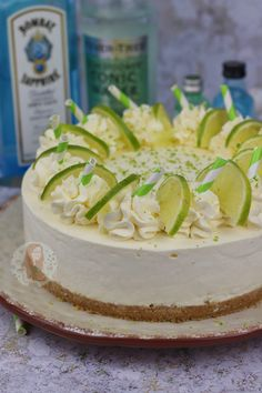 No-Bake Gin and Tonic Cheesecake! - Jane's Patisserie