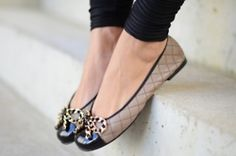 #chanel forever flats