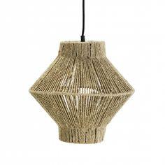 suspension-en-corde-madam-stoltz Decor, Inspiration, Lamp, Light, Pendant Light, Home Decor, Jute, Ceiling Lights, Deco