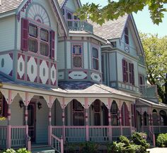 Gingerbread house Cape May NJ