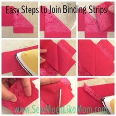 Quick Tips: Glue Basting perfect points, curves, and applique