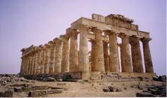 Tempio di Selinunte (prostilo) tra il 465 e il 450 a.C.