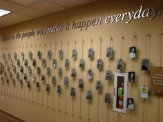 Recognition Wall