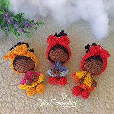Crochet Gifts, Cute Crochet, Beautiful Crochet, Knit Crochet, Amigurumi Patterns, Amigurumi Doll, Doll Patterns, Crochet Doll Pattern, Crochet Dolls
