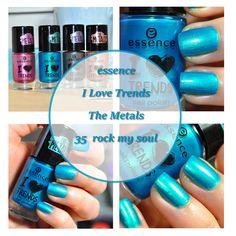 essence I love trends, the metals, 35 rock my soul, Nagellack, nailpolish, blogger, beautyblogger