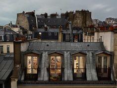 Gail Albert Halaban: Paris Views Bis Rue de Douai, Paris 9e, 19 Mai, 2013.