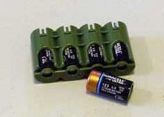 Great for storeing Batteries in your Pack or EDC bag.