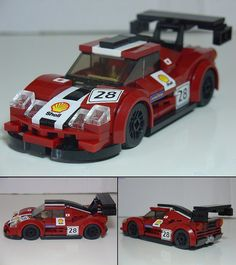 McLaren F1 GTR. Yet another car for the MegaMOC 2014 Le Mans Racing Series diorama.